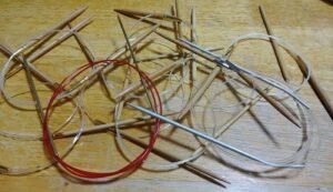 編み物輪針
